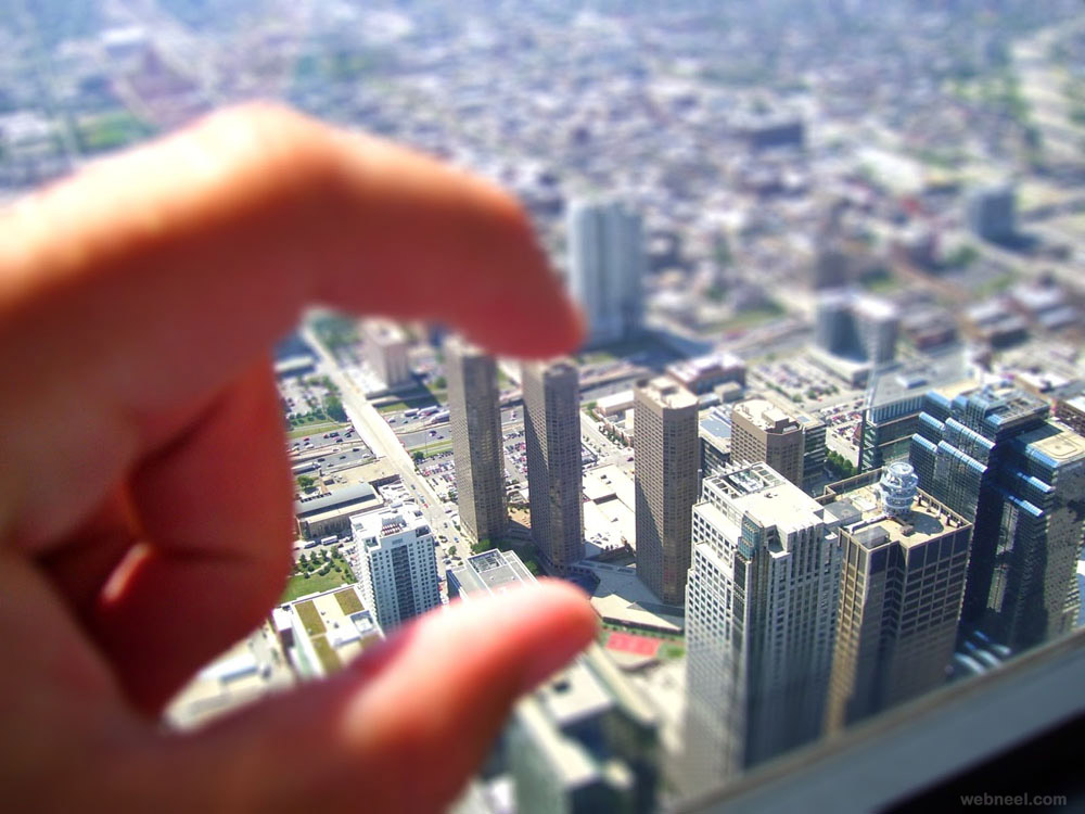 tilt shift picture