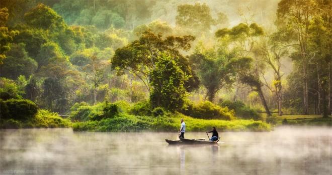 nature photography lake by suhartoyo