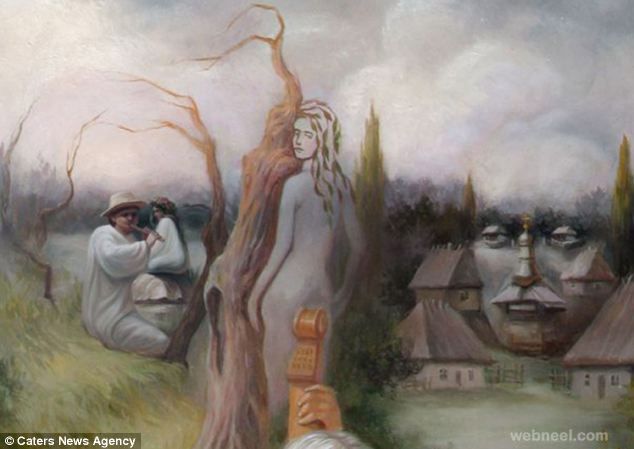 oleg shuplyak illusion painting double take