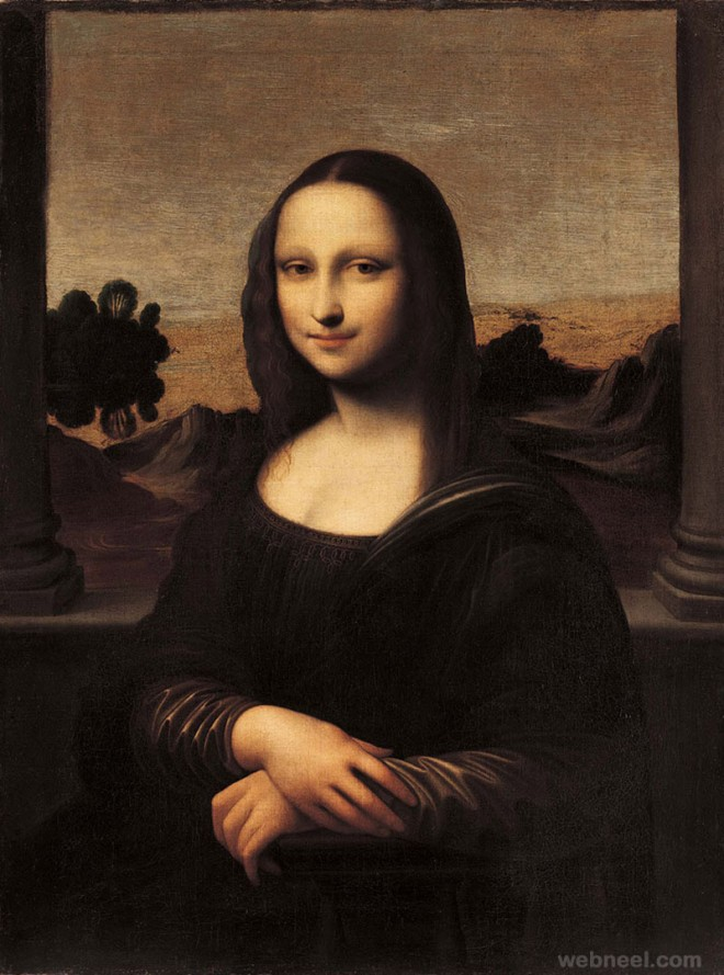 mona lisa old version