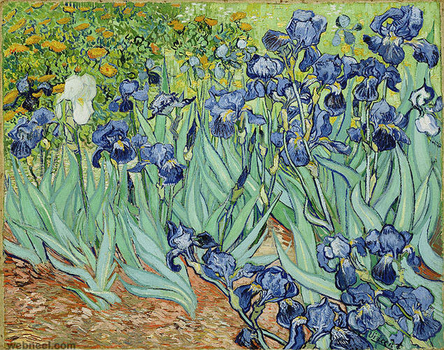 most expensive painting irises