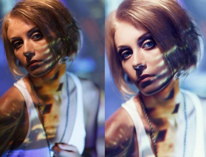 photo retouching by phowd
