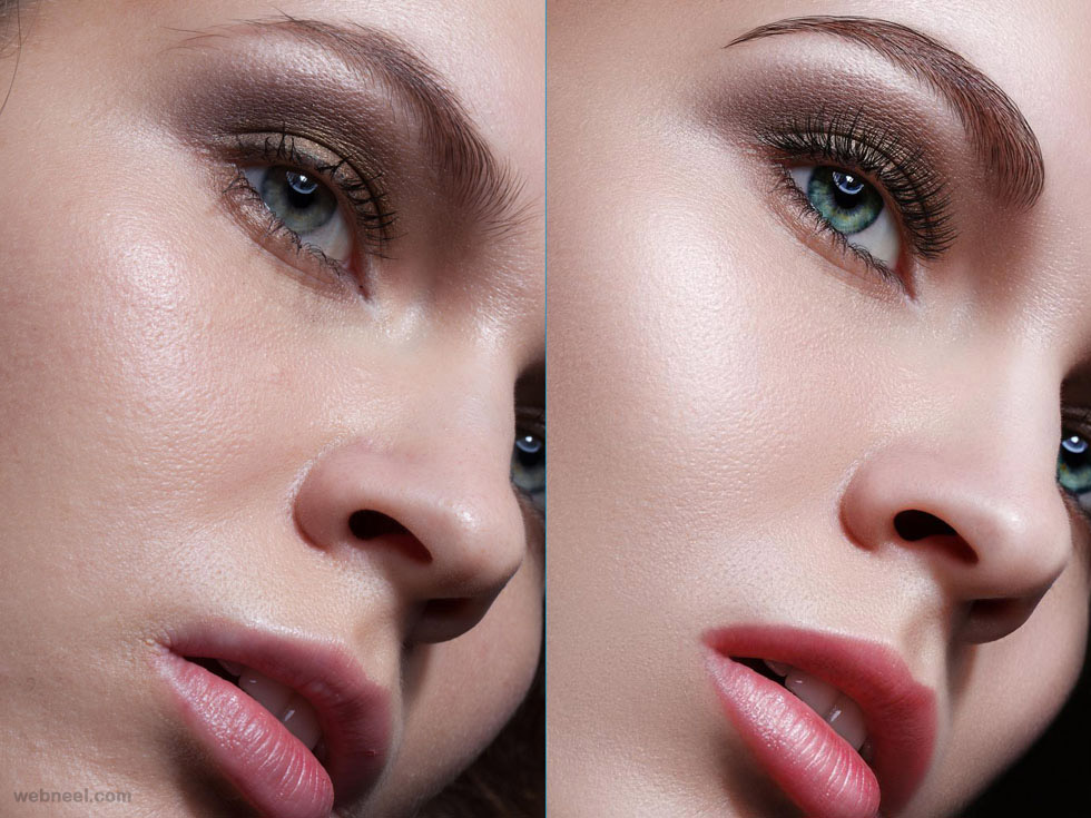 face photo retouching
