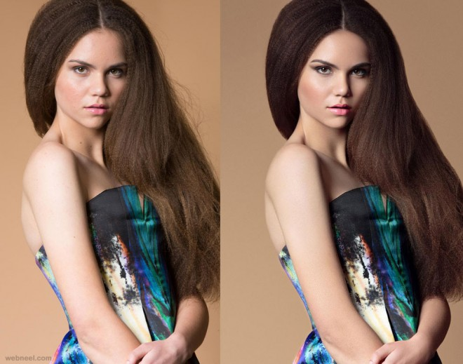 fashion photo retouching by phowd