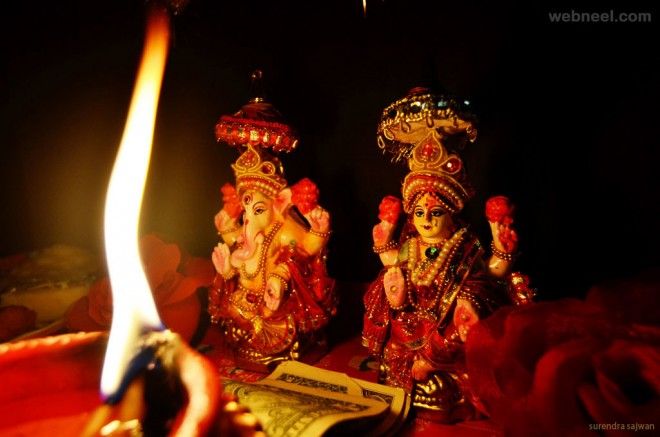 diwali lakshmi surendra sajwan