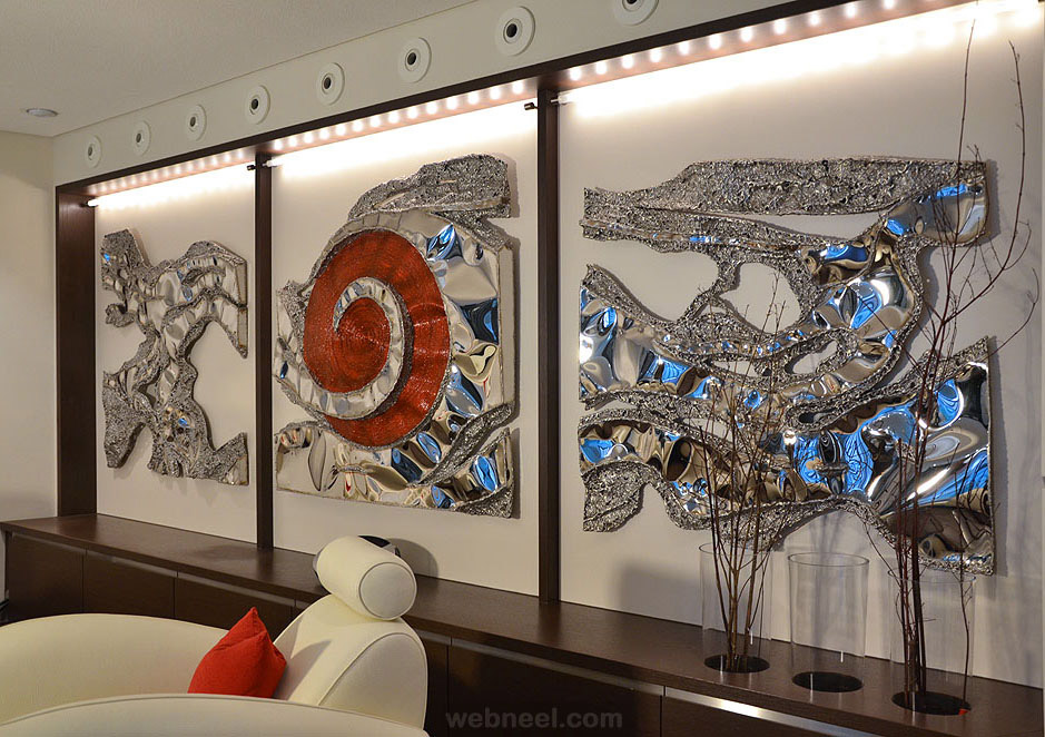 metal wall art sculpture