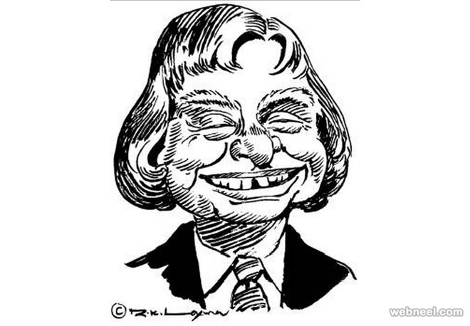 abdul kalam caricature by rk laxman