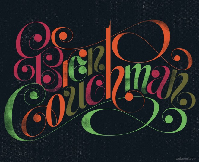 typography design by erikmarinovich