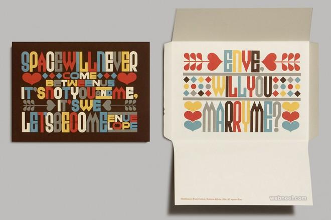 typography design by erikmarinovich