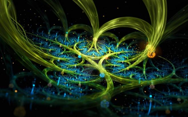 fireflies digital art by fractist
