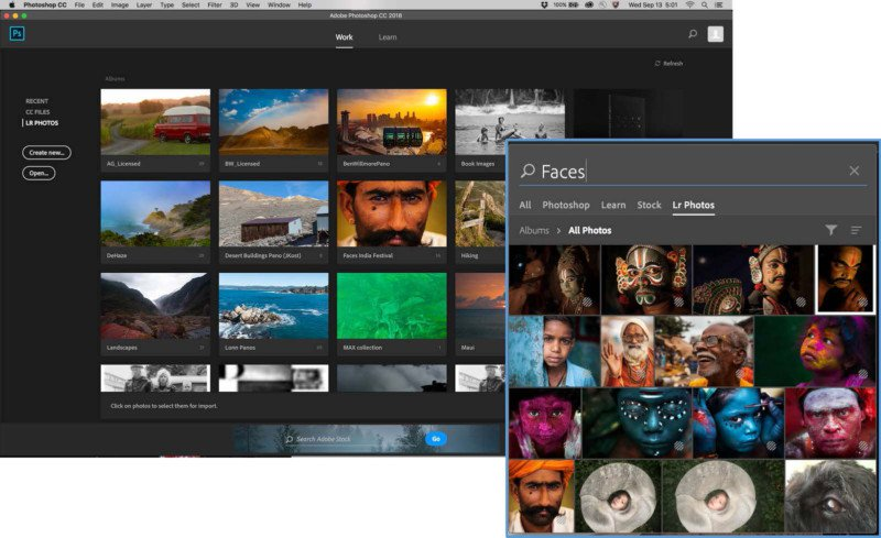 lightroom integration adobe photoshop