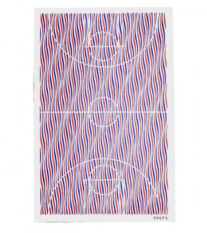 oakland print design by colpapress