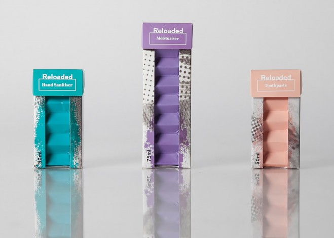 reloaded packaging design