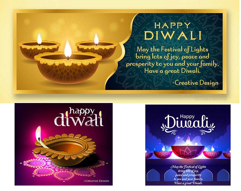 diwali greeting card by chiman jadav