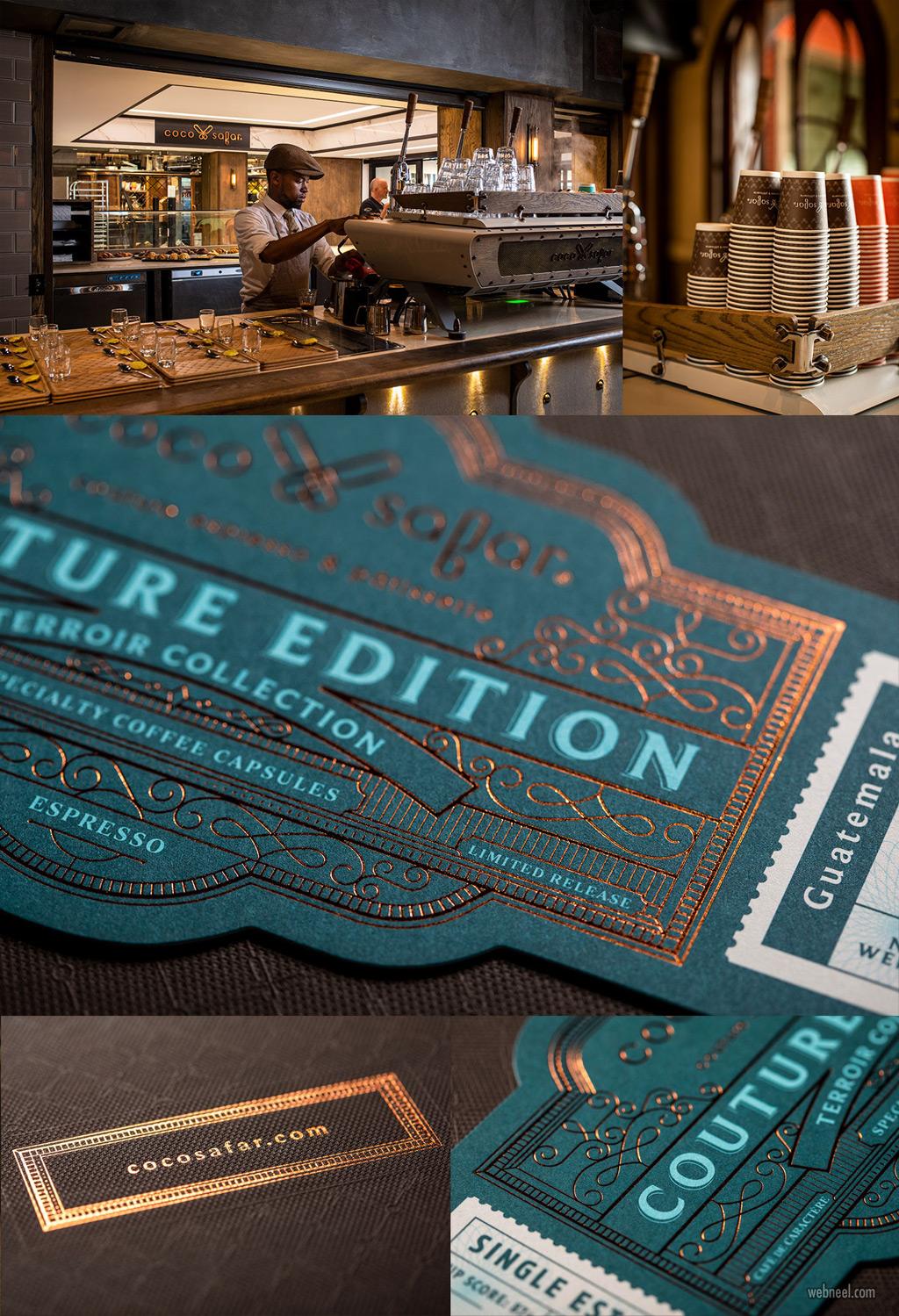 brand identity design coffee coco safar by markstudio