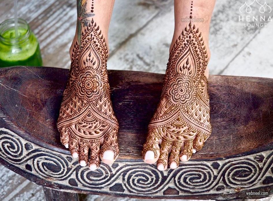 mehndi design leg foot daria by darcy vasudev