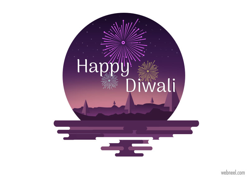 diwali greeting card by mohamed rafi