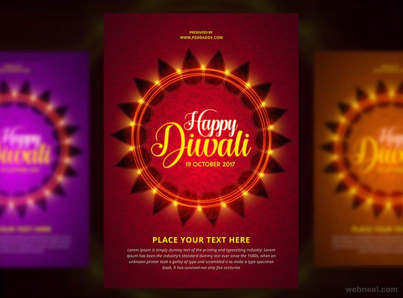 diwali greeting card by mohammed shahid