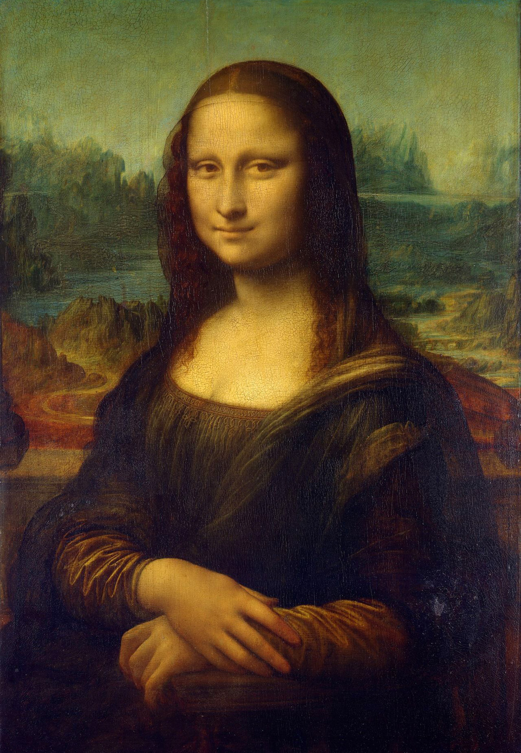 famous oil painting monalisa