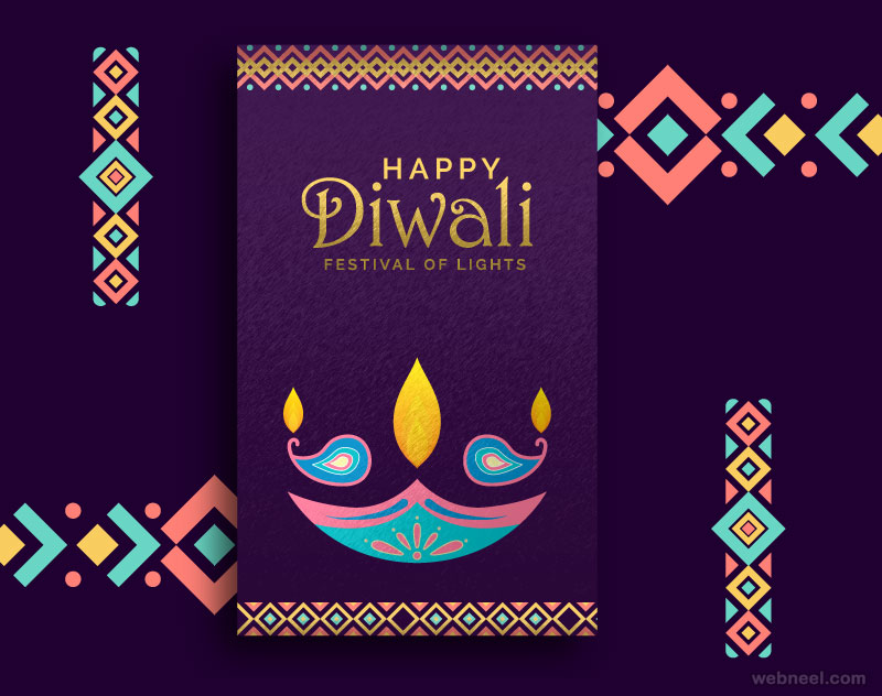 diwali greetings card by ahmed221b