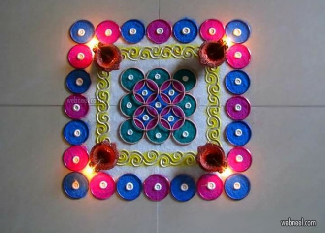 diwali angoli design