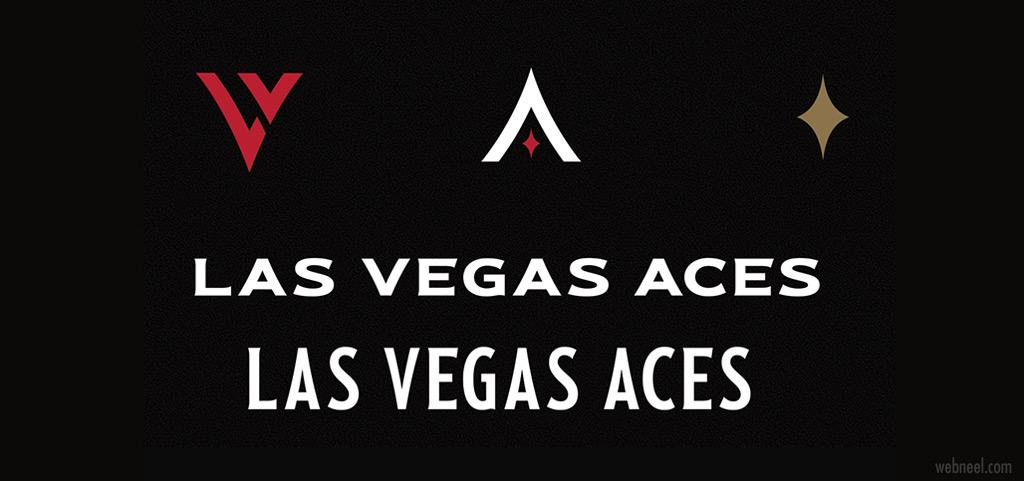 brand identity design las vegas aces by brianbollig