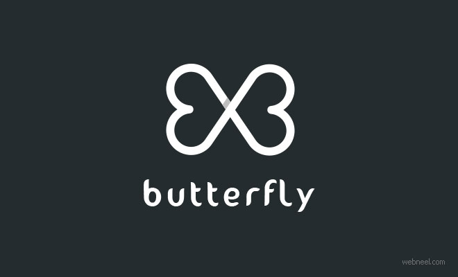 best logo design butterfly