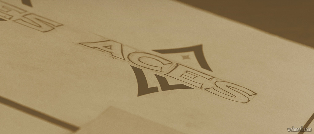 brand identity design las vegas aces by brianbollig