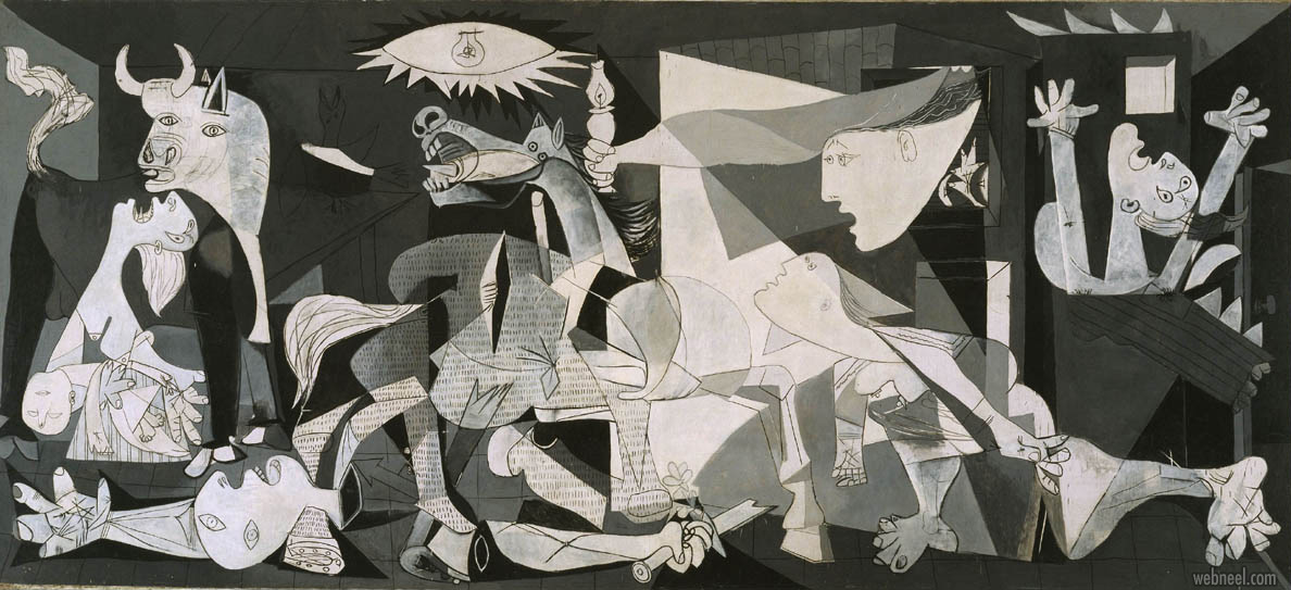 famous oil painting guernica pablo picasso