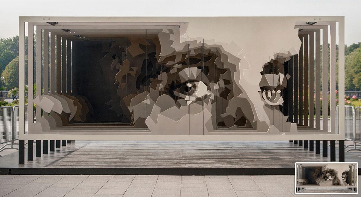 creative sculpture idea melkinov eyes by artem stefanov