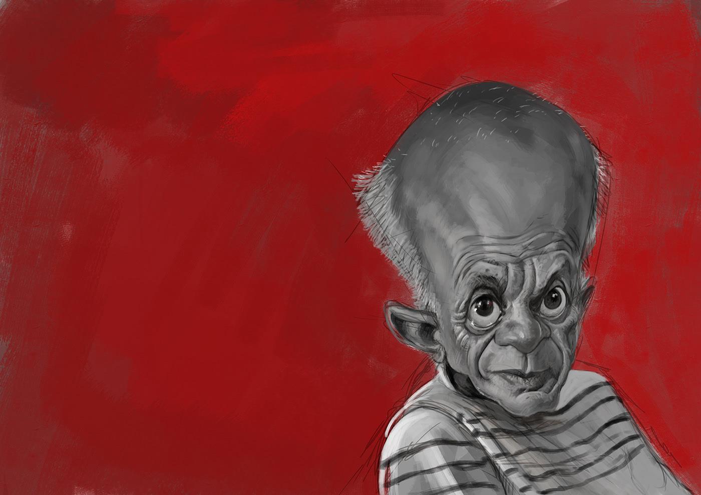 caricature poloitical