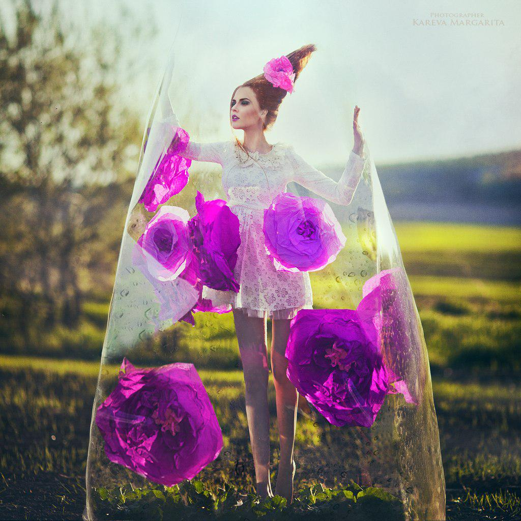 fantasy photography whitedress by kareva margarita