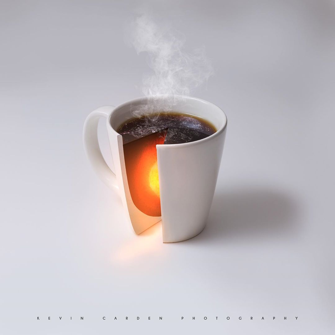 photomanipulation cup by christian