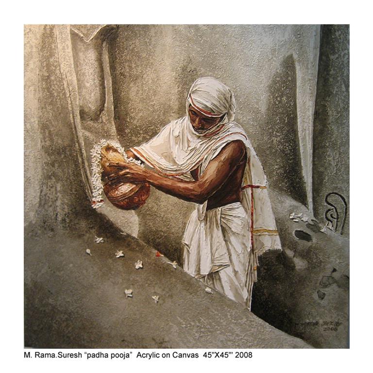 painting padapooja