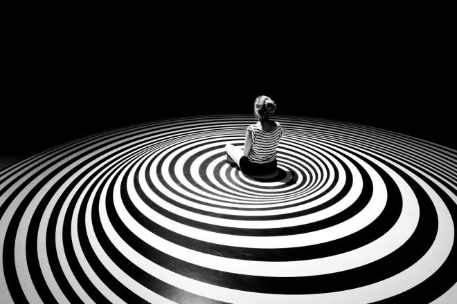 black white photography vertigo by christoph hetzmann