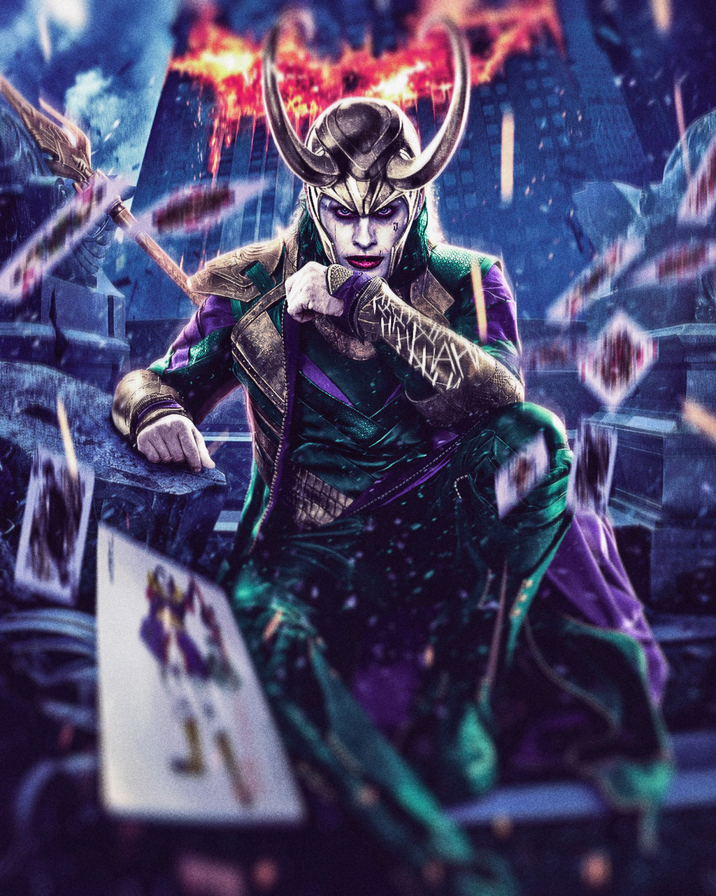 photo manipulation joker mashup by nicktam