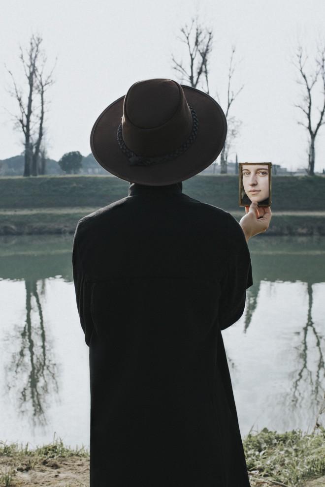 photography man waiting by victoria nazarova
