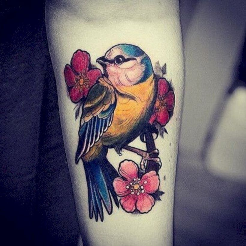 tattoo design sparrow by mitch allenden