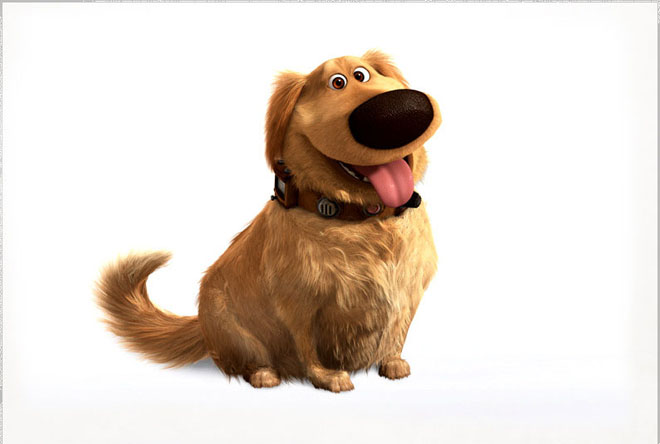 dug best animation movie character up