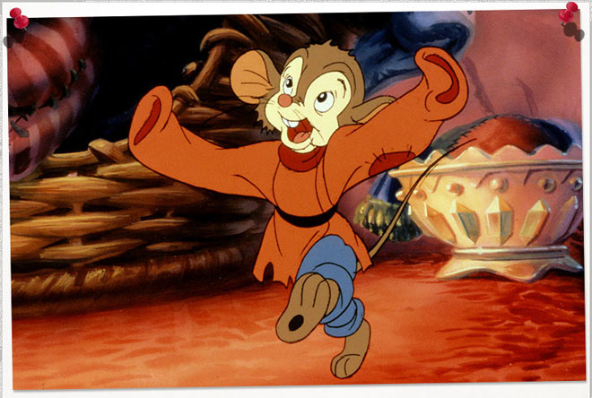 fievel movie: an american tail best animation movie character