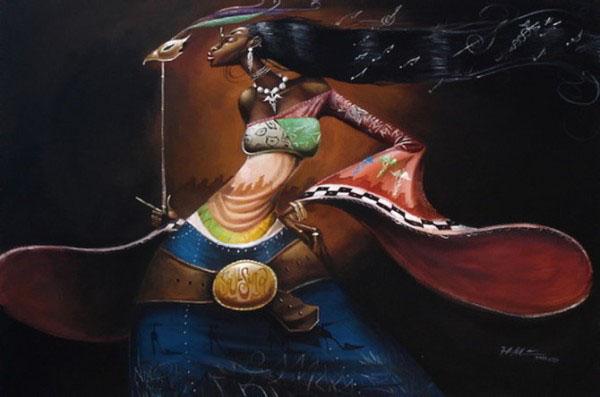black woman painting frank morrison lady women africa caricature illustration beautiful best stunning