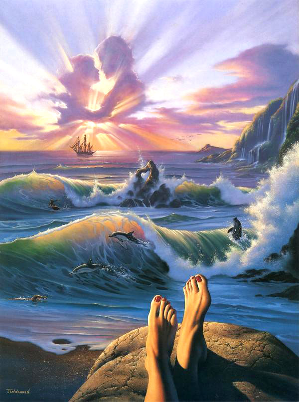 surreal painting by jim warren 1