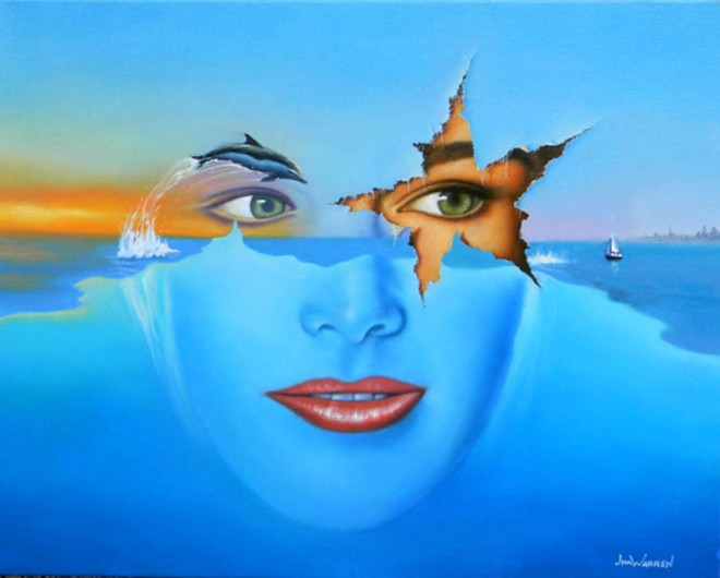 surreal painting by jim warren 23