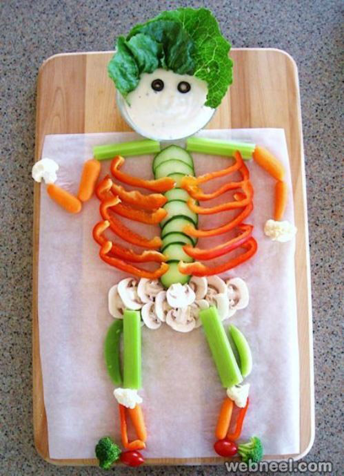 vegetable art for kids