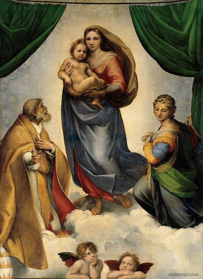 raphael paintings madonna