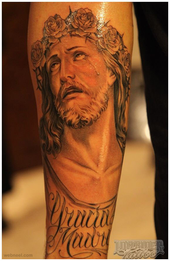 tattoo jesus