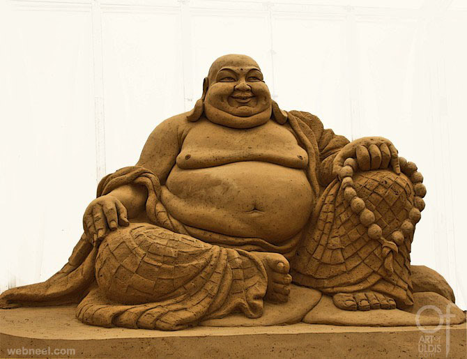 sand sculpture by uldis
