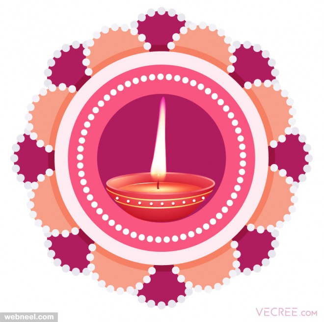 diwali greeting cards by vecree