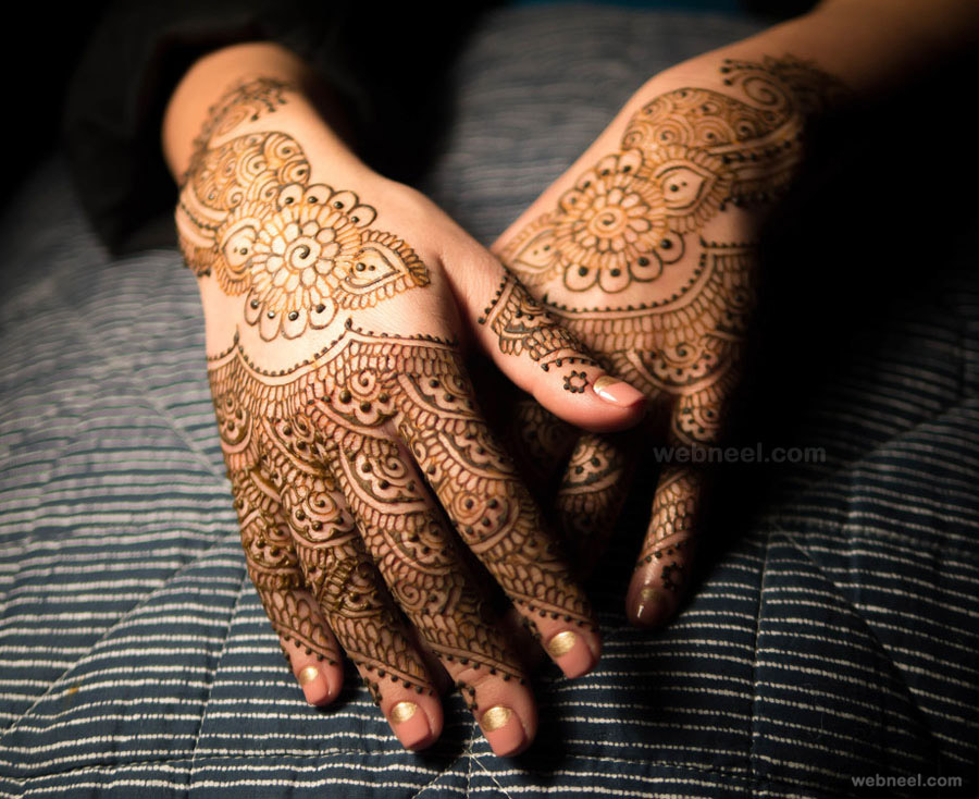 bridal mehndi designs by kenzi