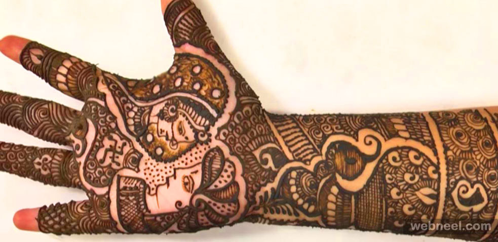 bridal mehndi designs by asha savla